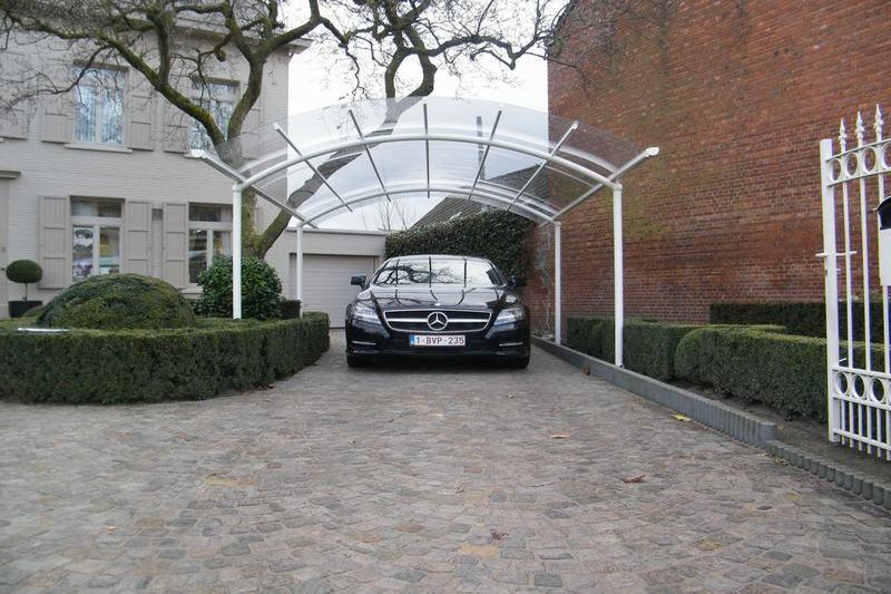 dakbekedding carport