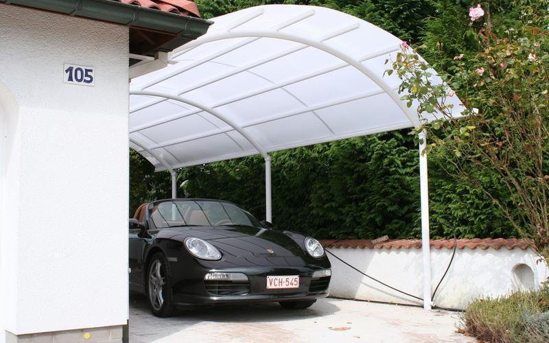 Overkapping Voor Auto : Aluminium carport in emmen overkapping auto
